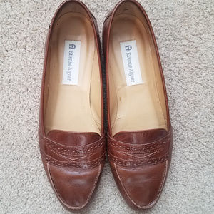 Etienne Aigner Kathy Leather Loafer